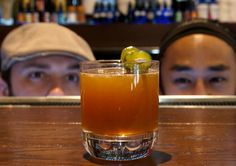 We Spy With Our Four Eyes, Something.....Orange, Fresh, and Delicious at UpBar!