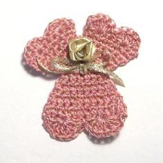 Crocheted Heart Angel DIY
