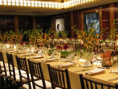 Weill Terrace Room Banquet Setup Carnegie Hall Large
