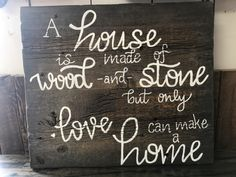 Chalkboard Quotes, Art Quotes, Retail, Outdoors, Stone, Wood, How To Make, Painting, Decor