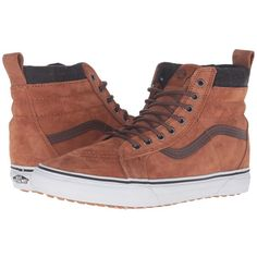 aad242e355 Vans SK8-Hi MTE ((MTE) Glazed Ginger Plaid) Skate Shoes