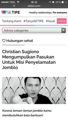 webb dating Christian Sugiono