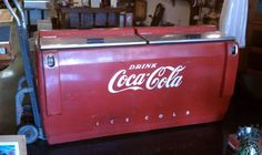 1948 coke machine  I want want WANT this!