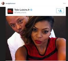 Image result for terrence howard and taraji henson Image