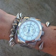 Still obsessed with @michaelkors watches