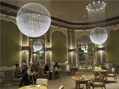 The French restaurant at The Midland hotel, Manchester