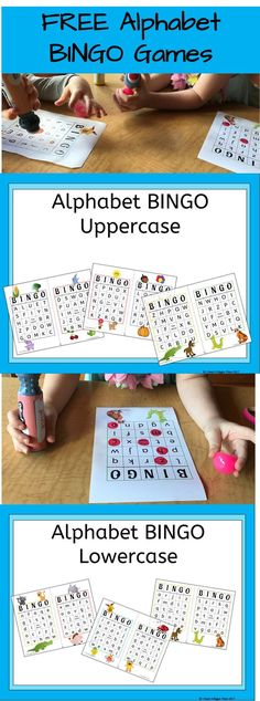 This is a great blog post about Alphabet BINGO - a super fun way to practice letter recognition!  This would be great for homeschool or preschool learning and play!  Check it out at www.thecrazybusymama.com