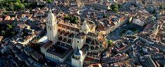 Vista aeria Cátedral Segovia