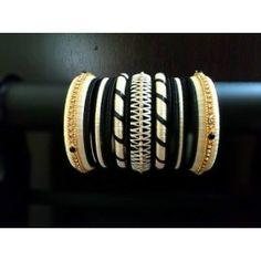 Bangle set made of silk thread-98