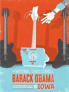 BaRock Iowa Concert Poster