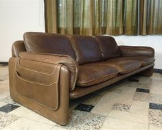 DS-61 sofa from the sixties by unknown designer for De Sede