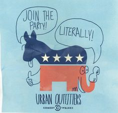 Join the Party! We're sending one lucky winner and a friend to the official Comedy Central Indecision Election Night party in NYC. Enter here: http://contests.urbanoutfitters.com/indecision