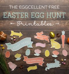 Free printables for your Easter Egg Hunt. | Tiny Me http://www.tinyme.com/blog/easter-egg-hunt-printables/
