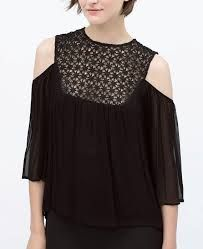 zara cut out shoulder top - Google Search