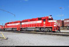 TRRA 2011 Terminal Railroad Association of St. Louis EMD GP40 at Venice, Illinois by Craig Walker