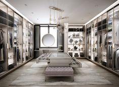 Classic Home Decor .Classic Home Decor Walk In Closet Design, Bedroom Closet Design, Home Room Design, Dream Home Design, Home Interior Design, Bedroom Decor, House Design, Interior Colors, Decor Room