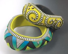 Fluid Bangle Bracelets with Donna Kato #craftartedu