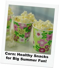 From healthy lunches to grilled corn, this vegi is packed with nutrition and fun to eat! Ideas for how to get your family  to eat more corn this summer.