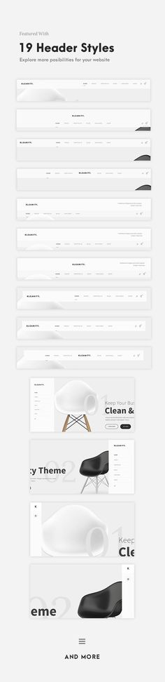 Buy Kleanity - Minimalist WordPress Theme / Creative Portfolio by GoodLayers on ThemeForest. Kleanity is the most powerful minimalist WordPress theme. It's perfect for minimalist website, portfolio, photograph. Web And App Design, Web Design Trends, Web Design Blog, Layout Design, Layout Web, Graphisches Design, Design Ideas, Book Design, Design Model