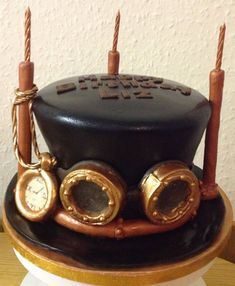 I was tasked with making a steampunk cake. I think I nailed it - Imgur