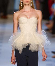 Tulle Peplum Inspiration - [ZsaZsa Bellagio: Posen Delivers the Glamour[
