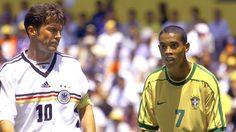 Konföderációs Kupa 1999 - Matthäus és Ronaldinho