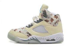 best service 8171f 77d05 Air Jordan 5 V Retro (Anti-fourrure) - Chaussure Jordan Baskets Pas