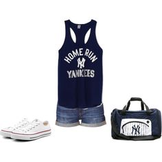 """""""New York Yankees""""     by sabrina-e-ortiz-michaels on Polyvore"""