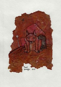 Buy Lonely dog, Ink drawing by Pavel Kuragin on Artfinder. Discover thousands of other original paintings, prints, sculptures and photography from independent artists.