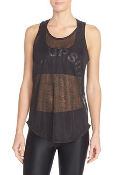 The Upside Sheer Graphic Tank