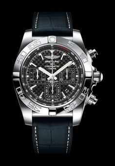 Breitling‏ Check out the new Chronomat 44 ! The chronograph par excellence. More information on: https://www.breitling.com/en/models/chronomat/chronomat-44/versions/ …