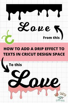 If you want to learn How to add a drip effect to Texts in Cricut Design Space then this tutorial is for you. Cricut design space tutorials for beginners. cricut crafts, Cricut design space tips and tricks, drip svg bundle,cricut tutorials. Cricut Air 2, Cricut Help, Cricut Vinyl, Tips And Tricks, Circuit Projects, Vinyl Projects, Project Life, Cricut Craft Room, Cricut Fonts