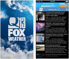 Check out the new Q13 FOX Weather app! Download here >> http://q13fox.com/2015/02/25/download-the-all-new-q13-fox-weather-app-for-your-smartphone-or-tablet/