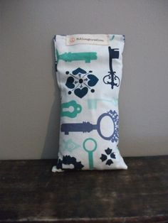 Skelton Key Yoga Eye Pillow with Lavender by HASinspiration, $5.00
