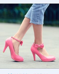 Plus size pink-ribbon decorated Pumps U.S. kleidung.com Rock $ 9.46 (€ 7.57) at wholesale prices