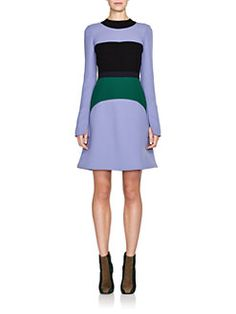 Marni - Colorblock Cady Crepe Dress