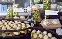 """""""Atilla Vanilla Cupcakes"""" Boy friendly Princess Birthday Party Inspired by Disney's Tangled – THE DECOR AND DESSERTS » Jackie Culmer Photography. #princess #party #rapunzel #disney #tangled #birthday #cupcake Tangled Birthday Party, Princess Birthday, Princess Party, Birthday Parties, Tangled Princess, Disney Tangled, Disney Animated Films, Vanilla Cupcakes, Dessert Table"""