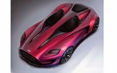 Alan Derosier - Transportation design: From the attic: Aston Martin