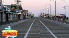 Best Beach Boardwalk: Ocean City, MD  With boardwalk fries, its famous Grotto pizza and all the shops and rides expected of a great boardwalk, it's easy to see why Ocean City, Maryland topped our picks.