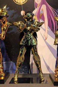 Aquario armaduras de ouro em tamanho real cavaleiros do zodíaco