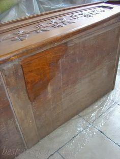 konserwacja mebli, linseed oil, odświeżanie mebli, olej lniany, renowacja, restoring furniture
