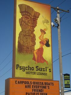 Psycho Suzi's - Northeast - cool drinks & delicious fried food