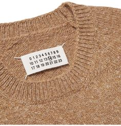 Mélange Camel Sweater / by Maison Margiela