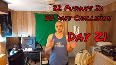22 Pushups In 22 Days Challenge - Day 21