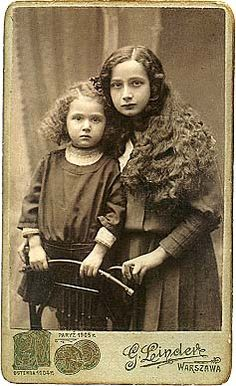 Jewish girls, Poland. They did not survive