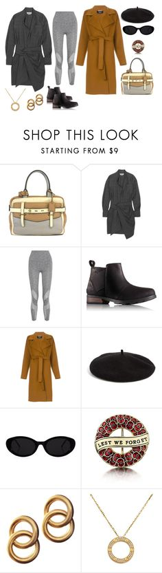"""""""going out"""" by moestesoh ❤ liked on Polyvore featuring Reed Krakoff, Étoile Isabel Marant, LNDR, SOREL, Rochas, Halogen, Laura Lombardi and Cartier"""