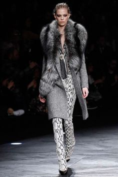 Roberto Cavalli | Fall 2014 Ready-to-Wear Collection | Style.com [Photo: Marcus Tondo / Indigitalimages.com]