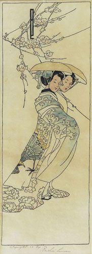 Bertha Lum ~ Geisha Girls, 1908
