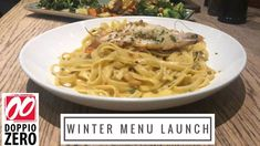 The other day I was fortunate enough to be invited to another this time is was for the launch of the new winter menu at Doppio Zero in San. Zero, Spaghetti, Product Launch, Dining, Winter, Ethnic Recipes, Food, Winter Time, Essen