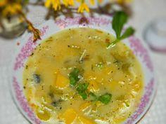 Mój przepis na zupę z zielonego selera. szminka w szpilkach: Zupa z selera naciowego, pysznie mi zielono